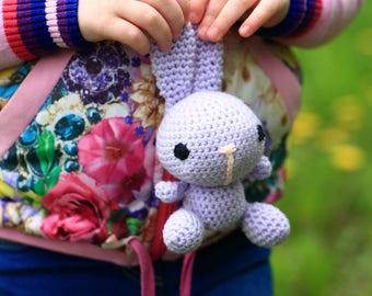 Amigurumi Toy Hare, Bunny, Handmade Amigurumi Hare, Crochet Hare Amigurumi, Stuffed Animal, Cute Hare, Hare Toy