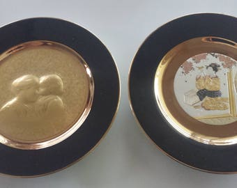 Pretty Vintage collectors plates