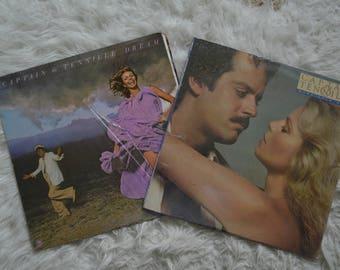 Two Captain & Tennille Vinyl Records