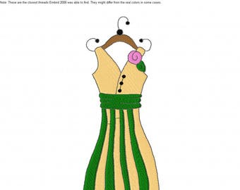 Dresses 1 Machine Embroidery Designs