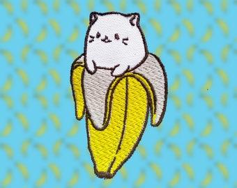Embossed edge Bananya patch