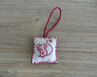 Little mouse - keychain