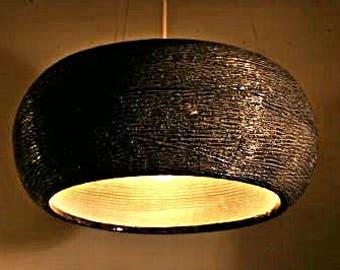 hanging lightsLighting - Pendant Lamp - Home decor lighting - light fixture - ceiling light - custom lighting - - pottery - home decor