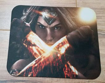 Wonder Woman Arms Crossed Non-Slip Mouse Pad