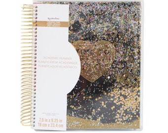 SALE! Creative Year Sparkle Academic Spiral Planner By Recollections, Academic Planner, Personalized Planner, School Planner, Work Planner