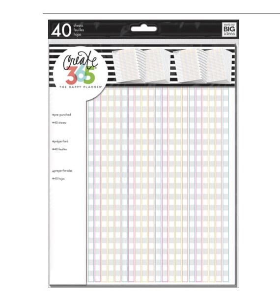 Create 365 the big happy planner teacher edition checklist for Happy planner accessories