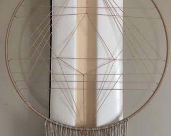 Boho Geometric Dreamcatcher