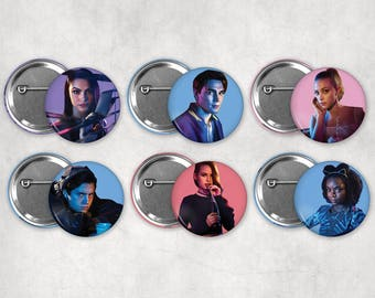 1.25in Riverdale Buttons