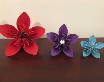 Handmade Kusudama Origami Flowers