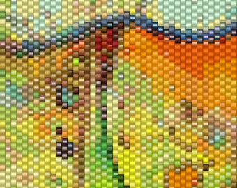 Peyote Pattern - Hippie Chick 4