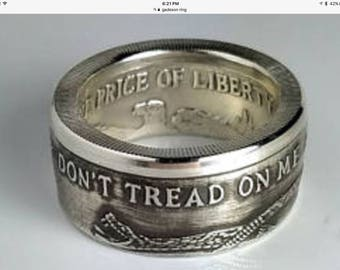 Dont tread on me Gadeson  ring