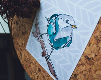 Postcard |  Blue Bird