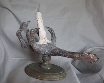 Find all the loot with this Hand of Glory, made from the most horrendous of materials!
