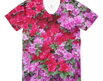 Flower power t-shirt.