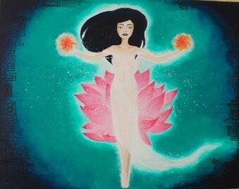 JADE - Sacred feminine painting