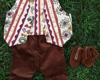 FOREST SET// corduroy and vintage cotton
