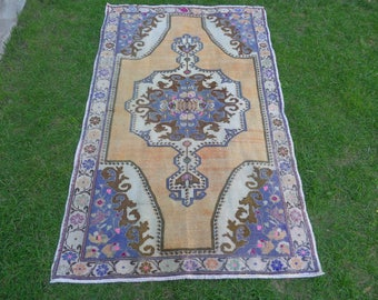 Vintage Turkish Rug, Anatolian Rug, Turkish Rugs, Vintage Rugs, Handmade Rug, Home Decoration, Interior Design