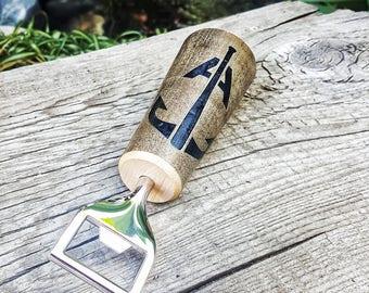Anchor Bat Co baseball bat bottle opener