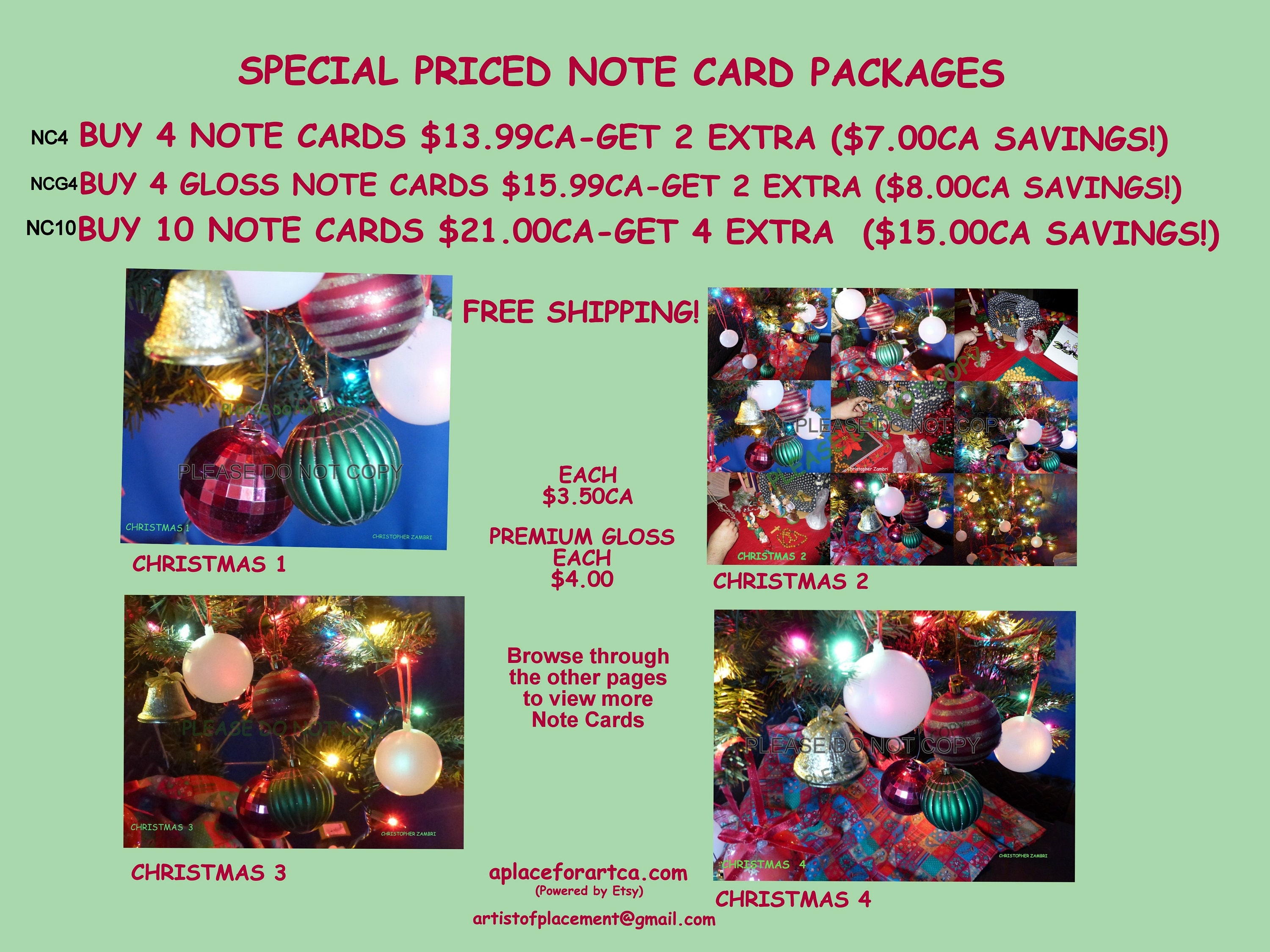 Unique christmas pop art blank note cards kristyandbryce Images