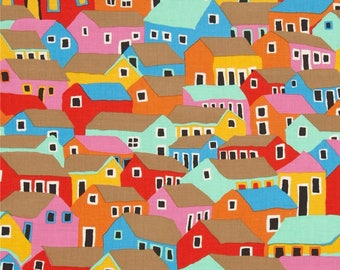 KAFFE FASSET Marble Shanty Town PATCHWORK fabric