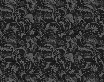 PATCHWORK fabric black City Style DAVID TEXTILES
