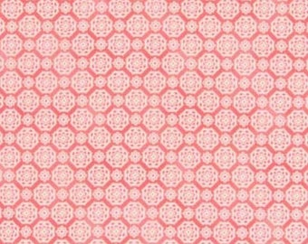 RURU QUILT GATE FABRIC pink patchwork fabric
