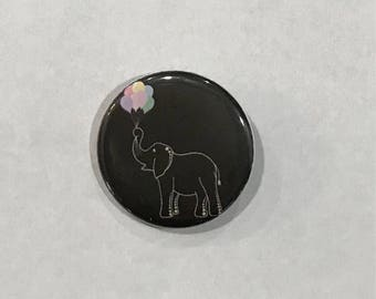 Elephant Pinback Button