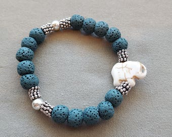 Elephant diffuser bracelet