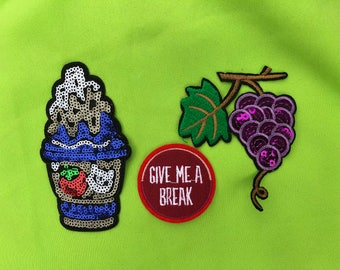 Beatiful Embroider Patch iron  on and sew