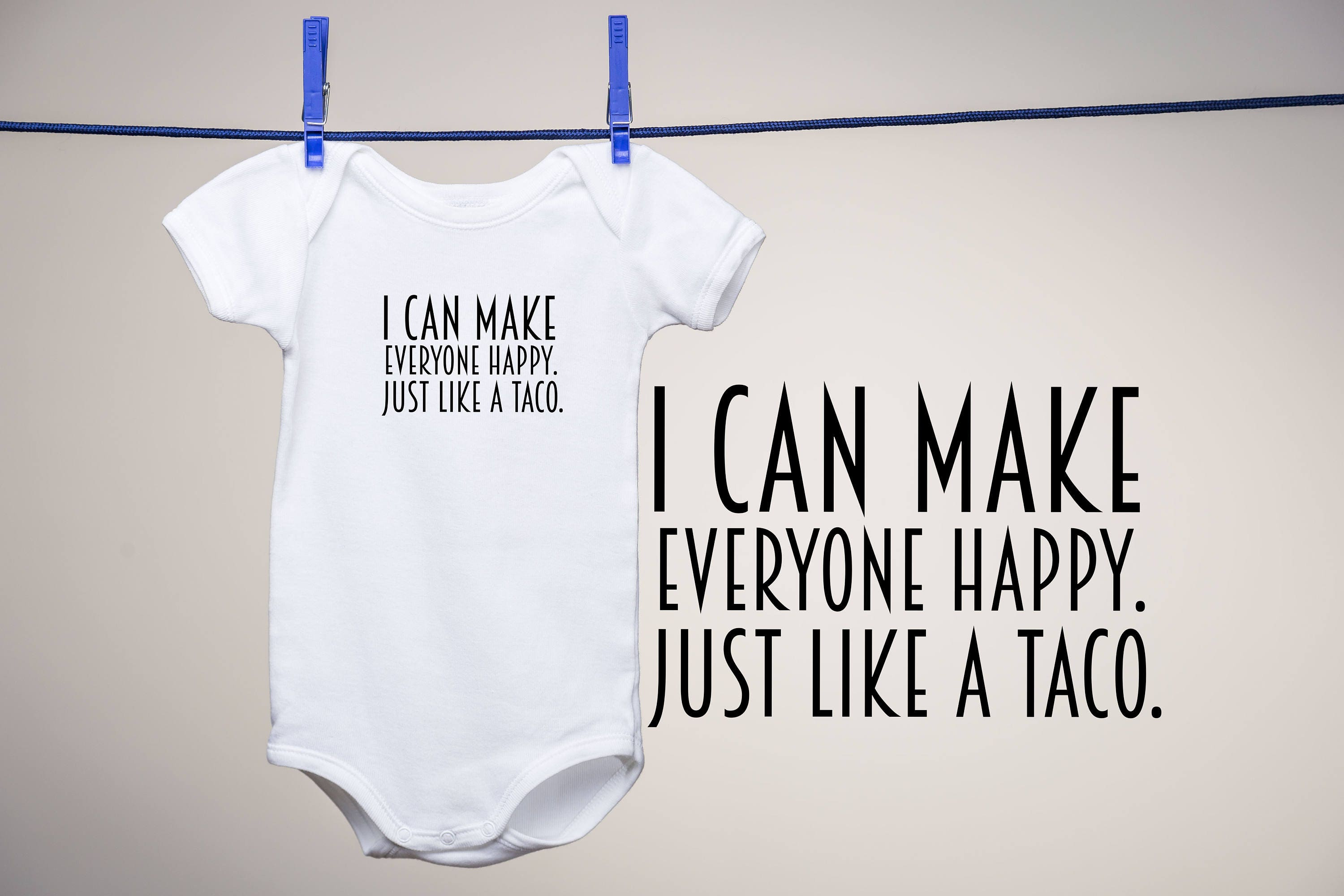 df338f91e3dd Taco Onesie 0-24m Gift for baby shower gift funny baby onesie Taco Lover  Taco