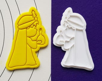 Magi offering Frankinsense Cookie Cutter and Stamp