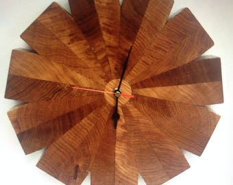 Reclaimed Oak wall clock