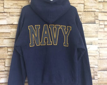 Vintage UNITED STATES NAVY hoodie jumper small size