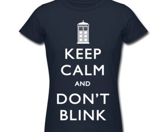 Keep calm and don't blink doctor who
