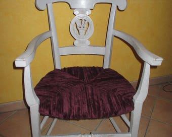 Armchair vintage provencal