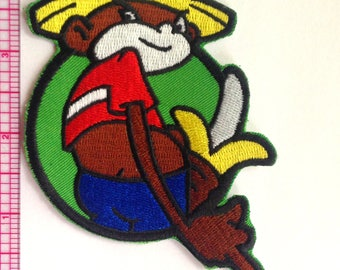 Johnny Chimpo from Super Troopers Patch