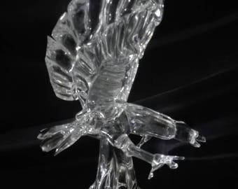 Czech bohemia crystal glass - Eagle 25cm