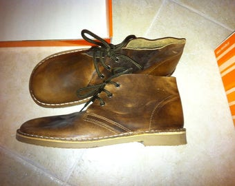 Leather boots - size 37 (UK4) - Hand Made