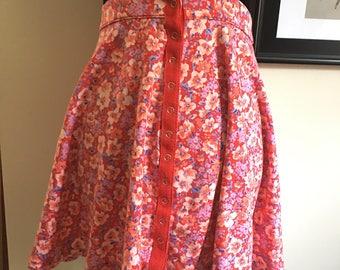 Floral Kimchi Blue Mini Skirt