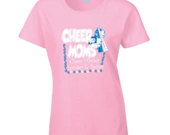 Cheer Moms T Shirt