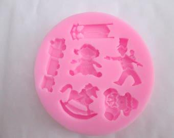 baby theme silicone mold