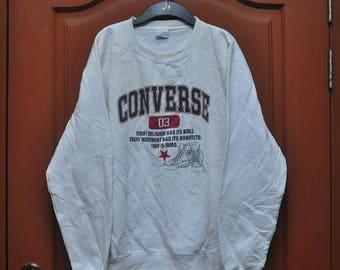 SALE !!! vintage converse sweatshirt