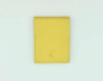 Mini yellow Notepad