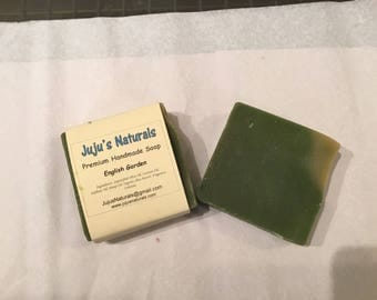 English Garden - Handmade Soap