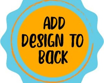 Add Design to Back