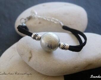 Bracelet Black Pearl. Double