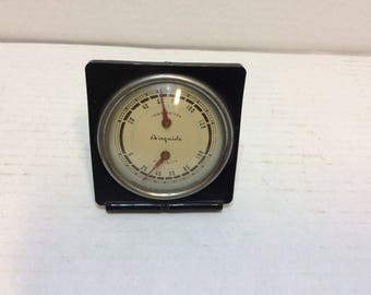Vintage Airguide Desk Top Weather Station Temperature and Humidity