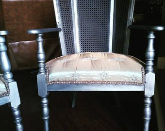 Antique chair and rocking chair