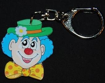 clown head key chain