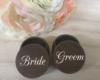 Wedding Ring Box / Wood Ring Box / Ring Bearer Box / Wood Box / Ring Box / Wedding Box / Ring Bearer / Jewelry Box / Personalized Wedding